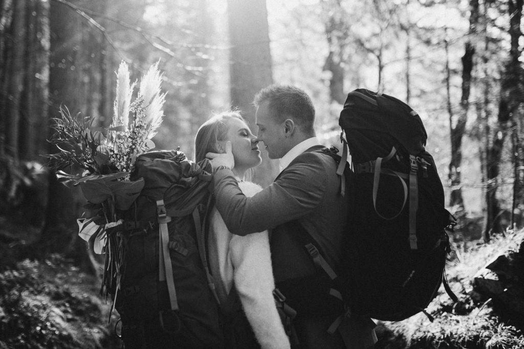 Rucksack Hochzeit